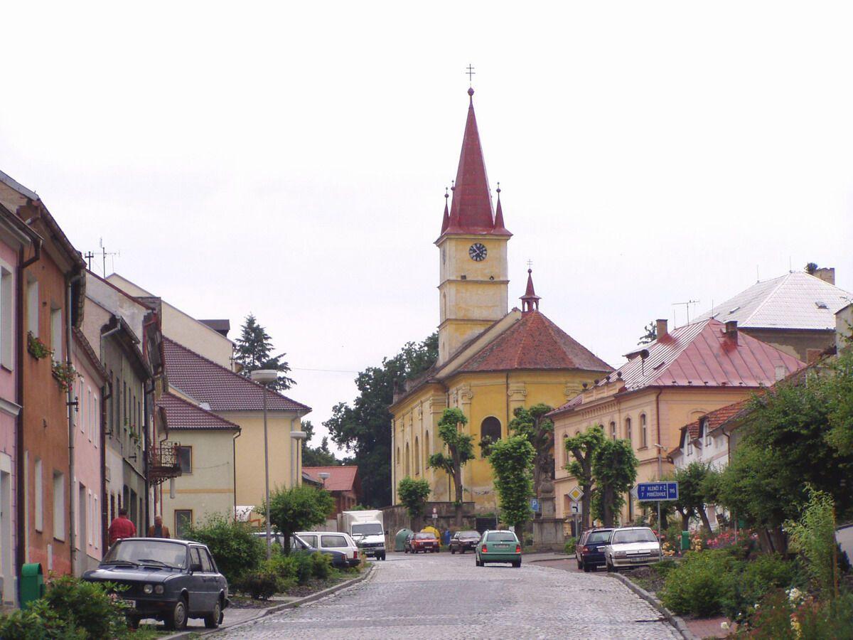 Hostoun (German: Hostau) is a town in the District of Domazlice in the Region of Pilsen in today's Czech Republic.