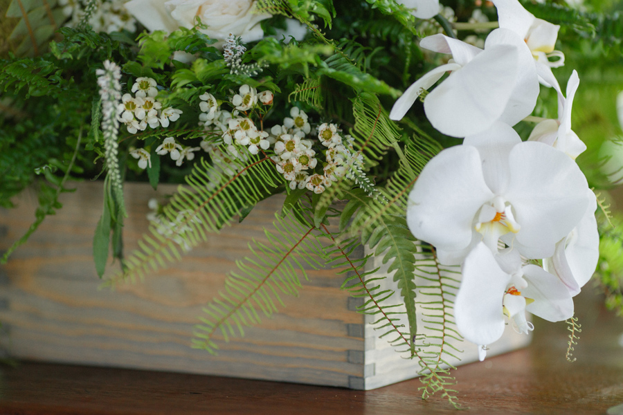 orchid wedding design