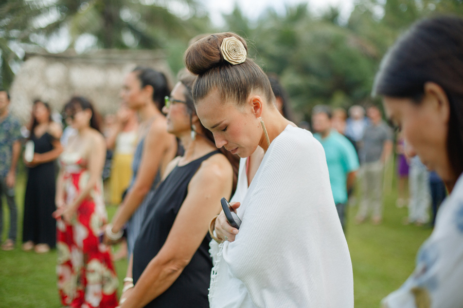 hawaii wedding prayer