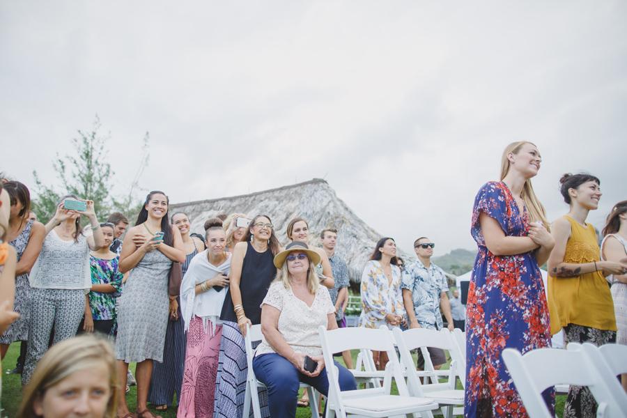 hawaii wedding guests