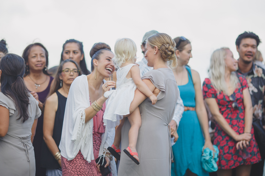 maui wedding guests