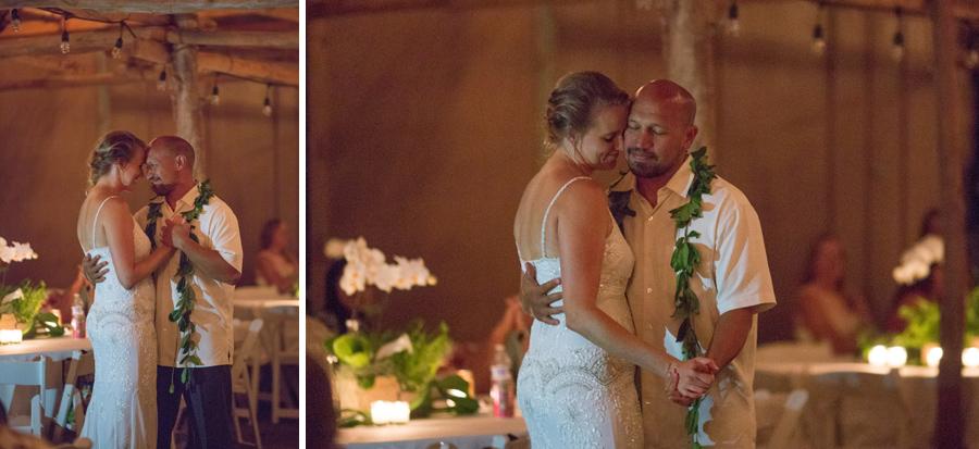maui wedding first dance