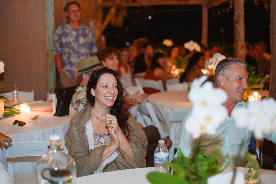 Wedding guest joy