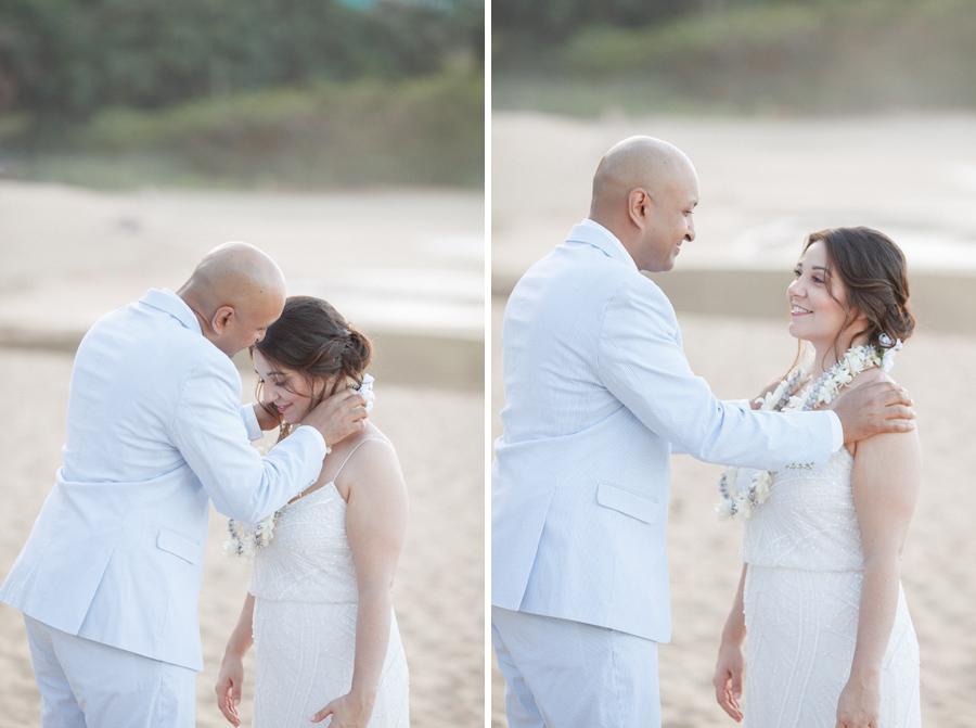 lei ceremony hawaii wedding