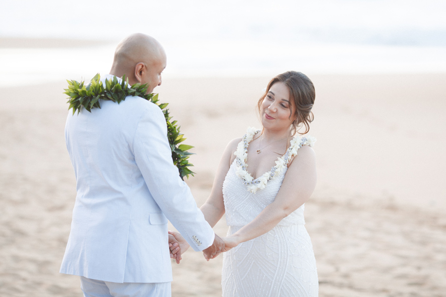 intimate adventure kauai wedding