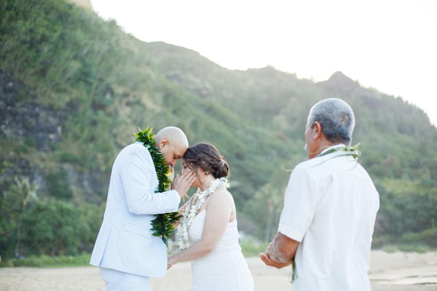 tunnels beach kauai wedding