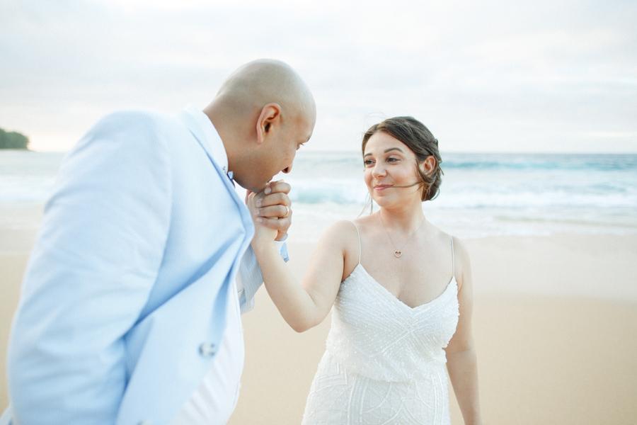 kauai intimate elopement