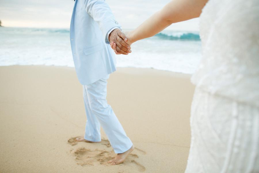 kauai north shore elopement