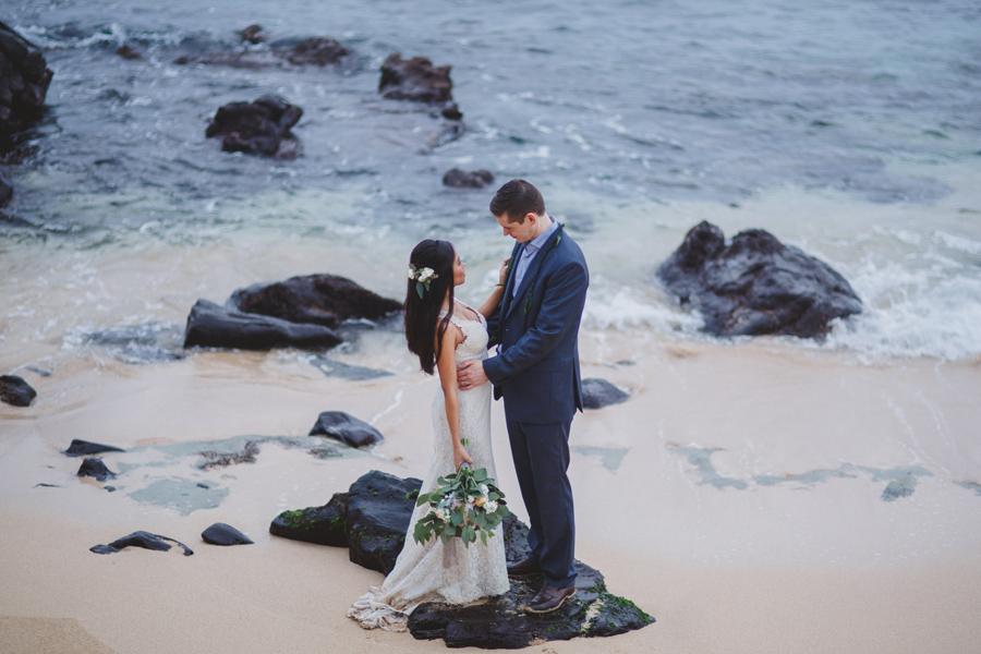 romantic wedding maui