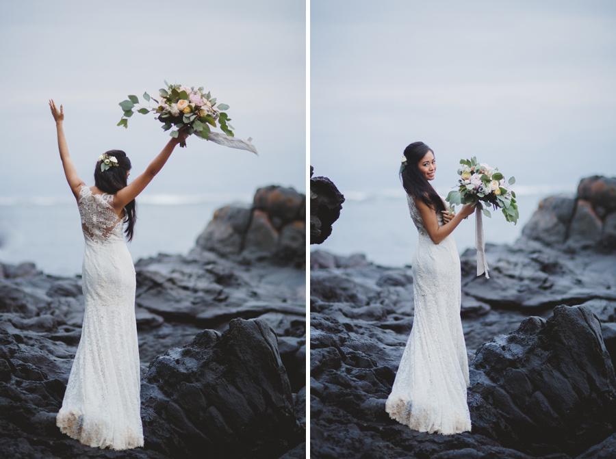 maui bridal portrait