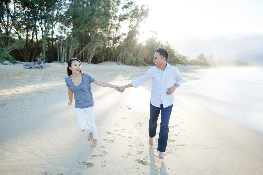 Beach Engagement Photography Hawaii
