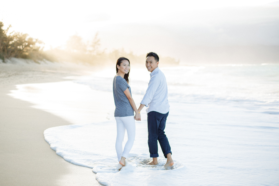 Beach Engagement Session Maui