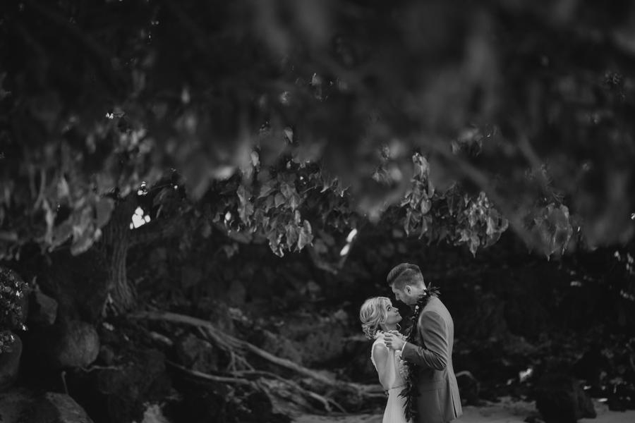 First Dance Maui Elopment Photographer