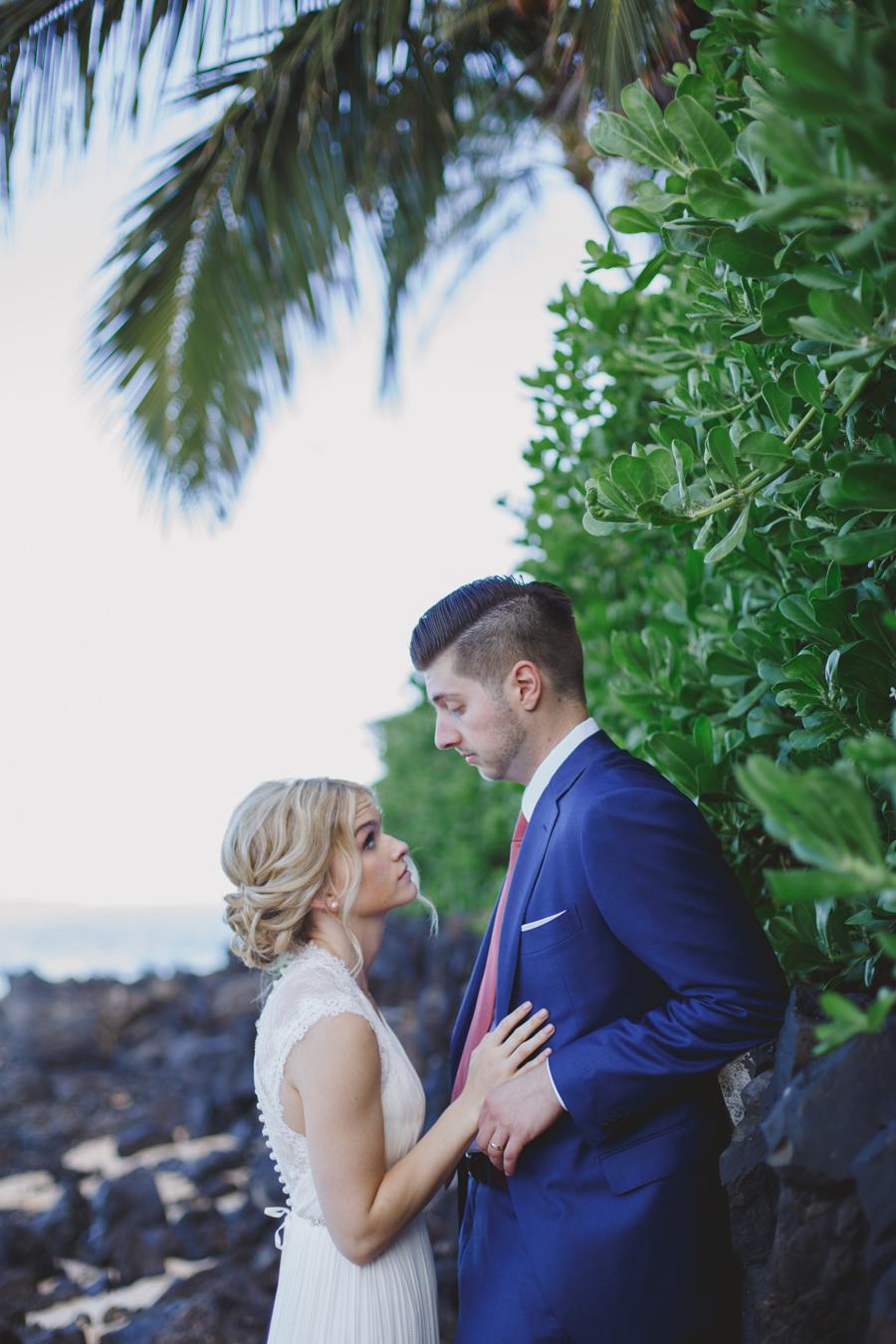 Bride and Groom Maui