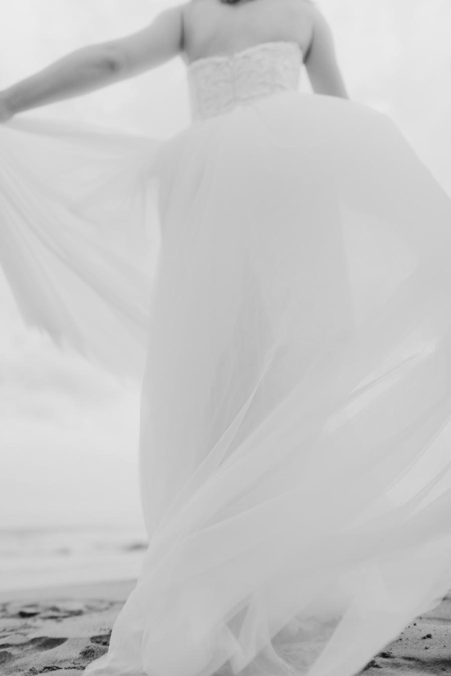 Wedding Dress Photographer Hawaii