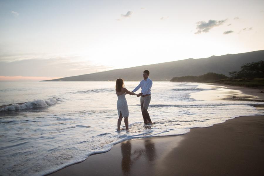 Sugar Beach Wedding Photography Maui