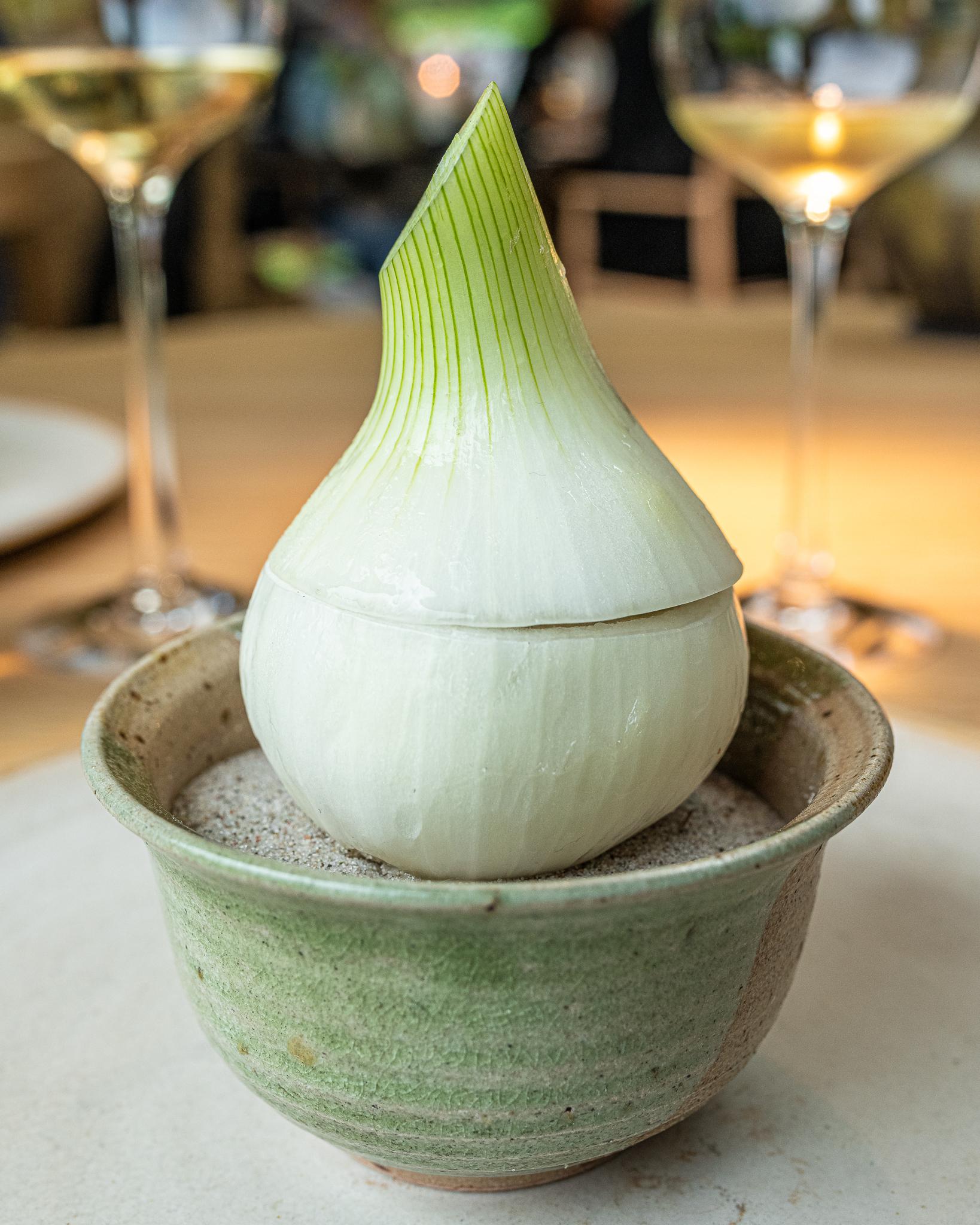 Chilled Onion Bouillon