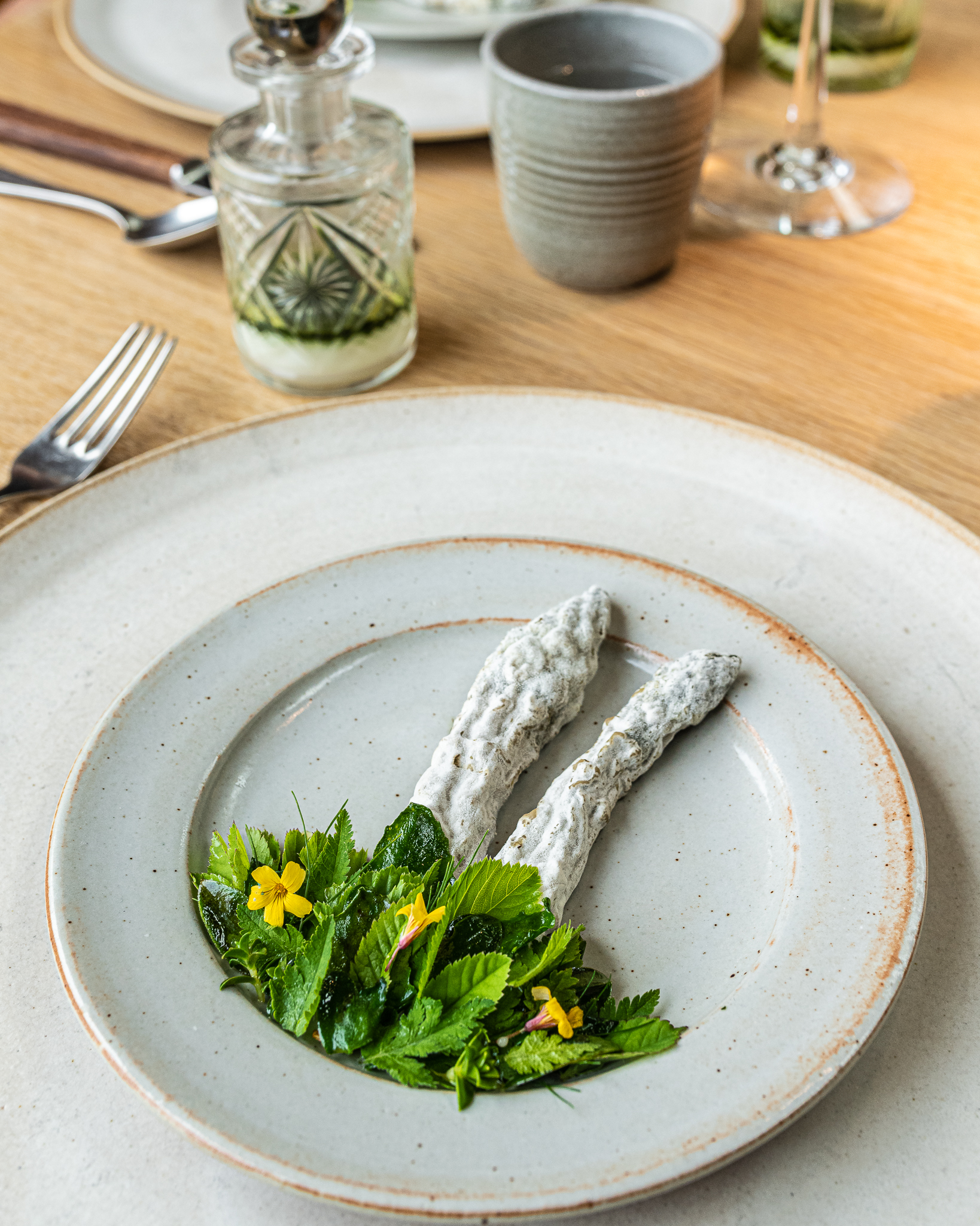Green Asparagus Preserved in Mold