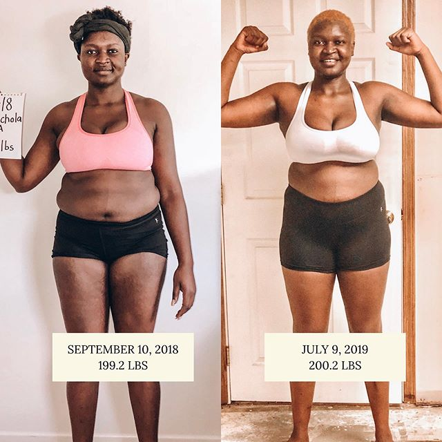 I have a love-hate relationship with these photos but above all, I love that they motivate me to keep working out because I have a goal I'm going to achieve.  I am so excited to take after pictures on July 31🙌🏾. Check out my 30 day highlight to see the start of this amazing transformation journey.