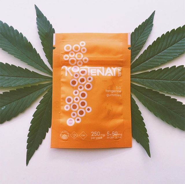 Tangerine Dream.⠀ .⠀ 25 mg CBD : 25 mg THC⠀ .⠀ We would fan you with giant pot leaves as you are them if we could.⠀ .⠀ .⠀ .⠀ .⠀ .⠀ .⠀ .⠀ .⠀ .⠀ .⠀ .⠀ #kootenaylabs #klabs #tangerinedream #CBD #THC #cannabiscommunity #potleaves #kootenaylife  #staylifted