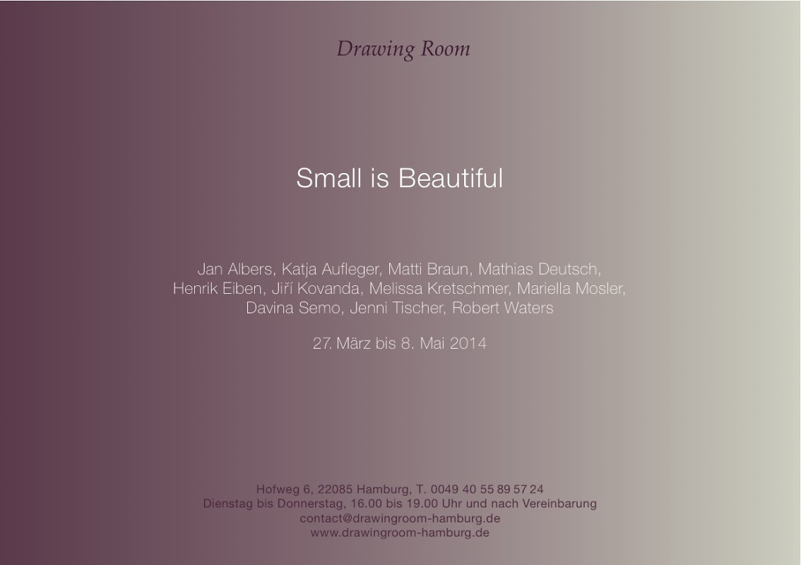 "HENRIK EIBEN IN ""SMALL IS BEAUTIFUL"""