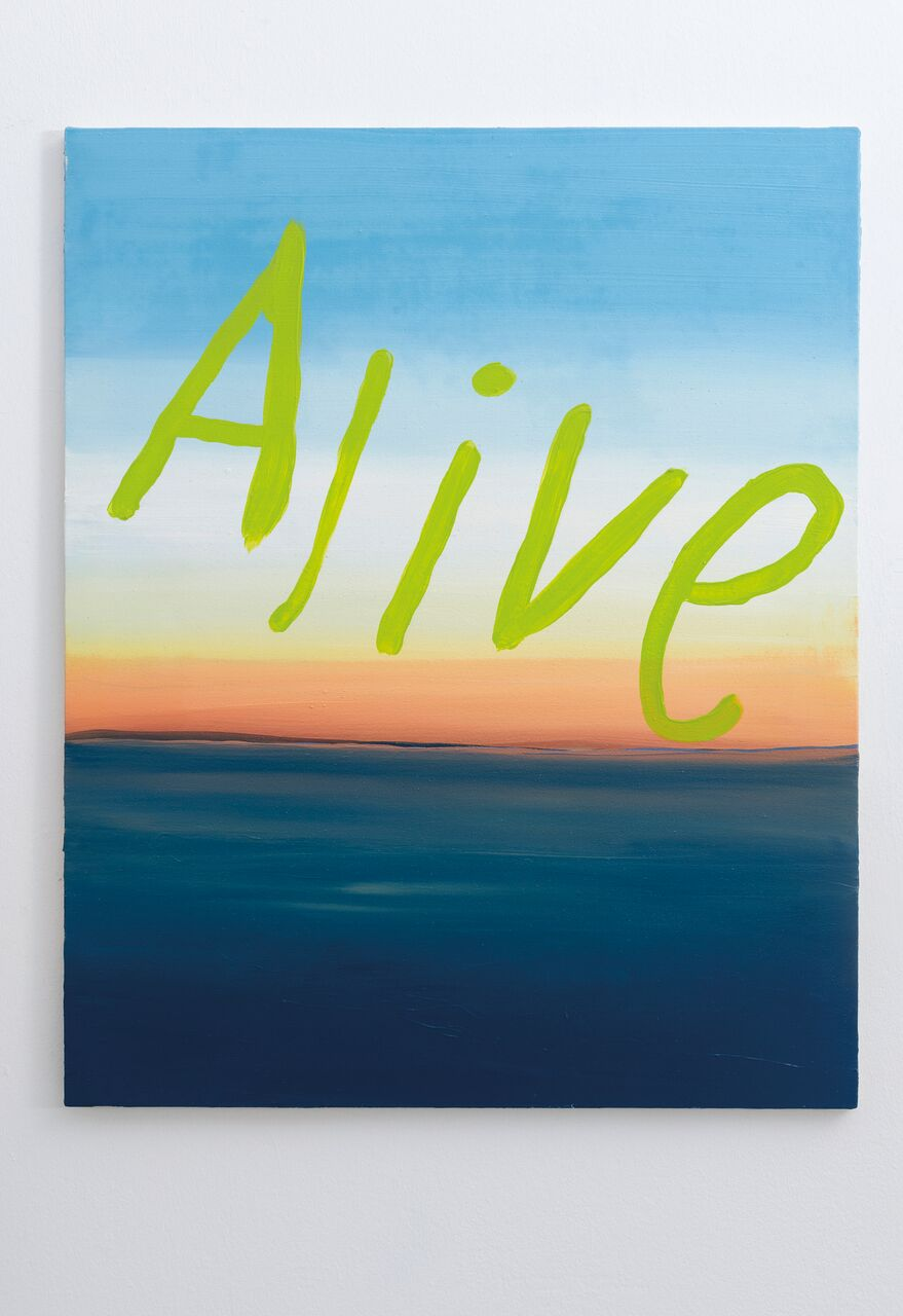 Alive, 2017, oil on canvas, 100 x 81 cm