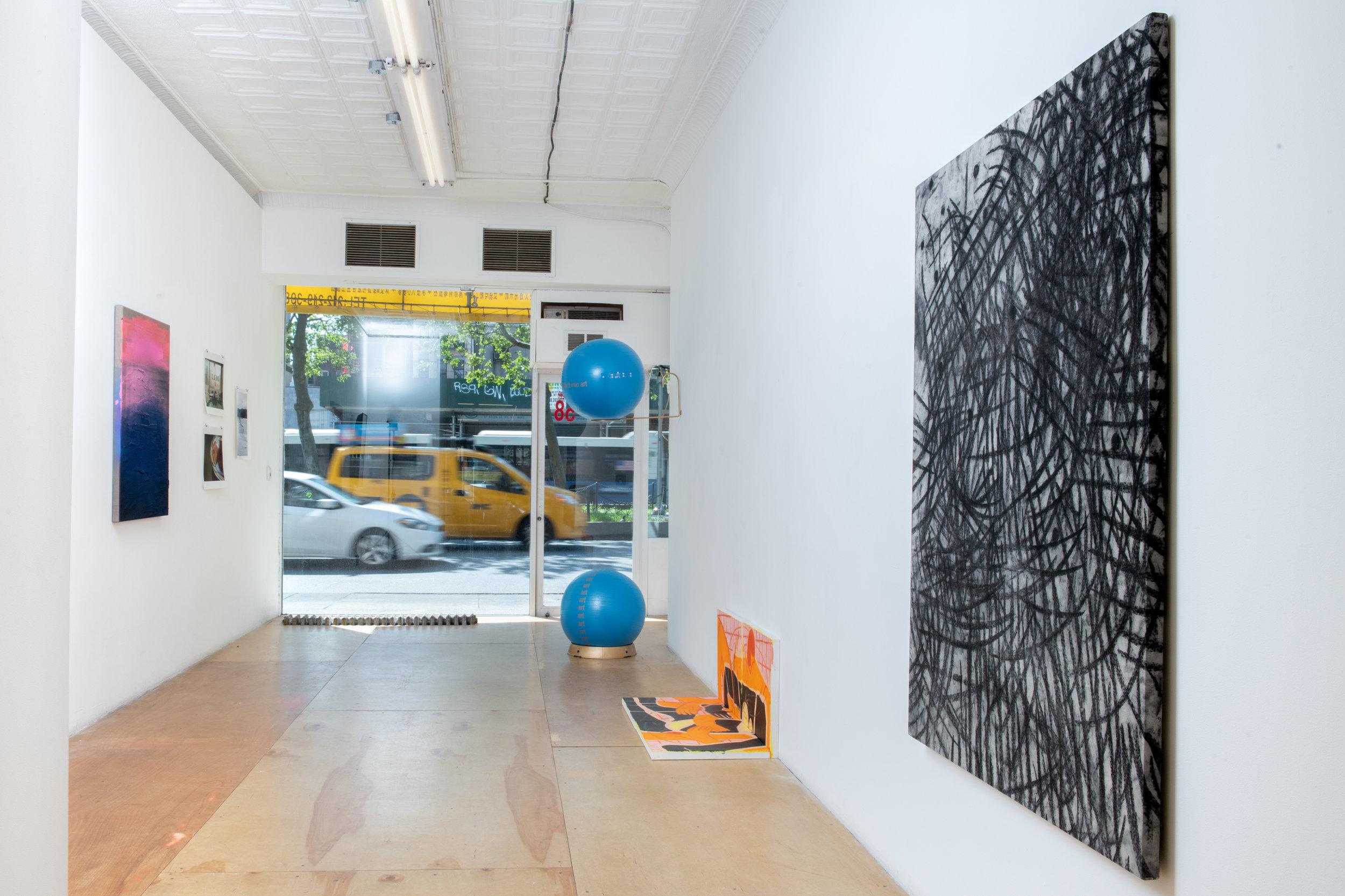 Here + Now Installation view at Pablo's Birthday Focus: Paul Weiner, Thanee Lonsdale, Irati Inoriza, Jonathan Todryk, and Tara Wray Photograph by - Edoardo Cozzani