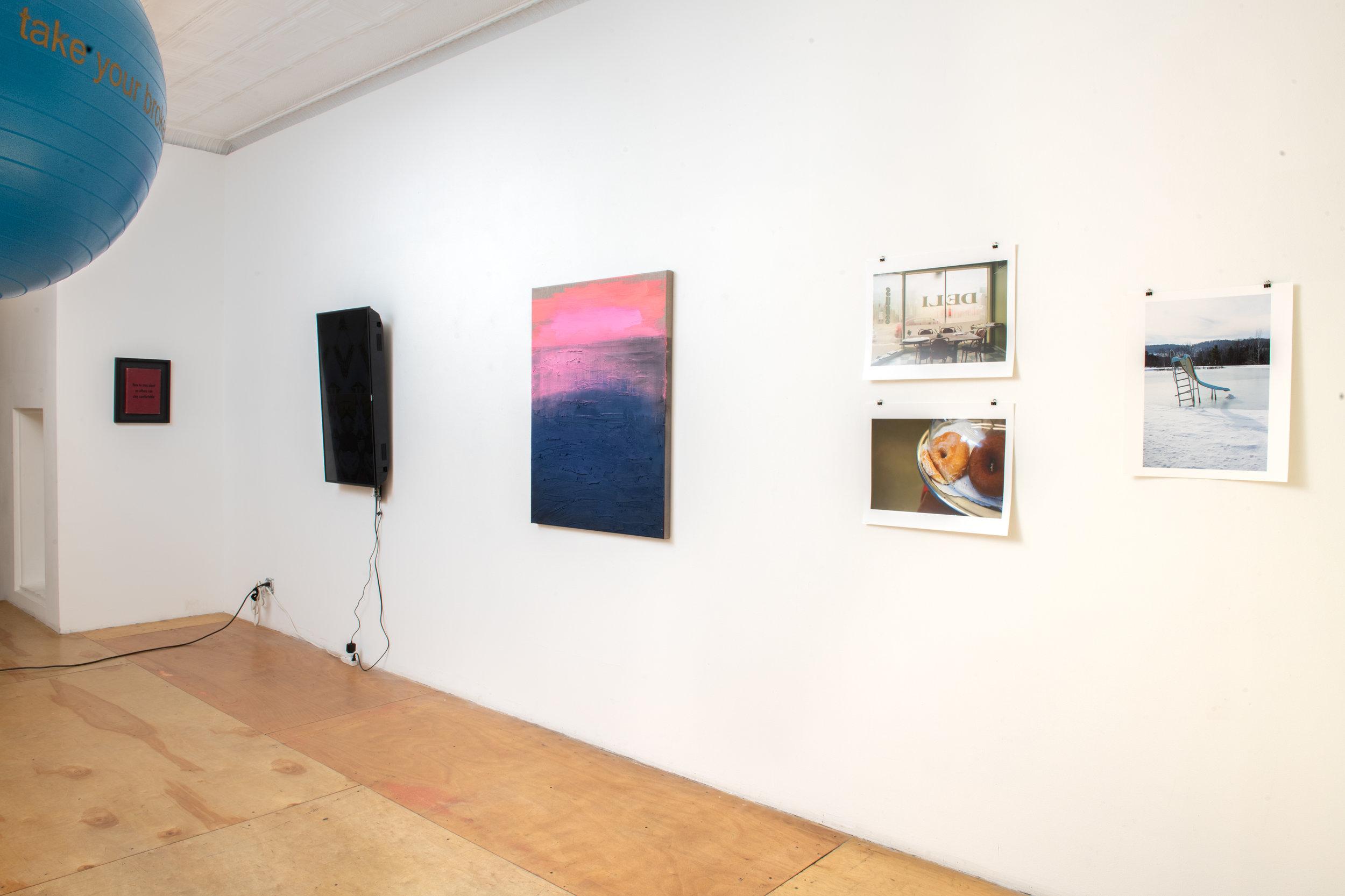 Here + Now Installation view at Pablo's Birthday Focus: Tara Wray, Jonathan Todryk, Tristan Schulze, Irati Inoriza, and Johan Deckmann Photograph by - Edoardo Cozzani