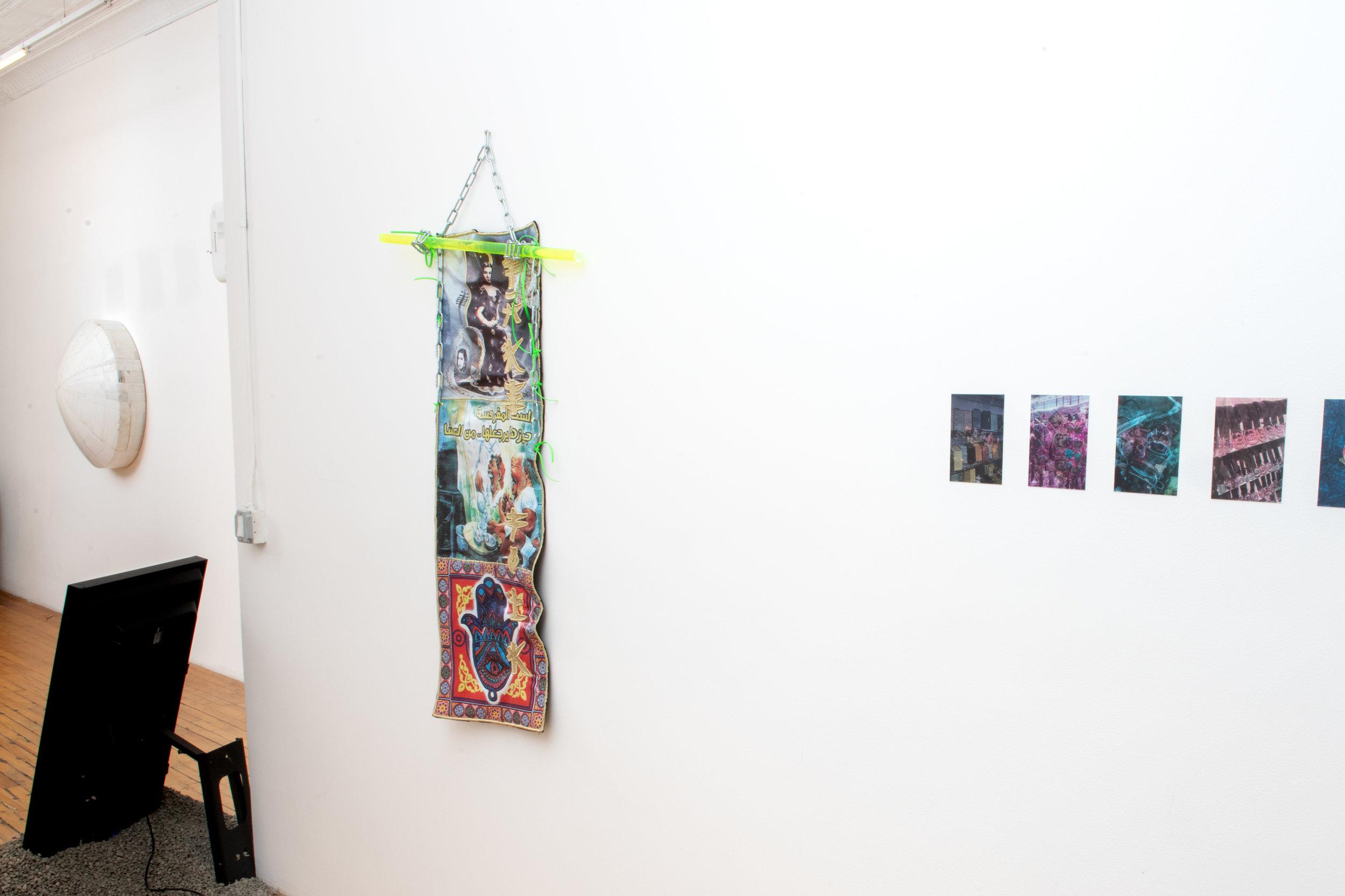Here + Now Installation view at Pablo's Birthday Focus: Hiroyuki Hamada, Stine Deja, and Anna Ehrenstein Photograph by - Edoardo Cozzani