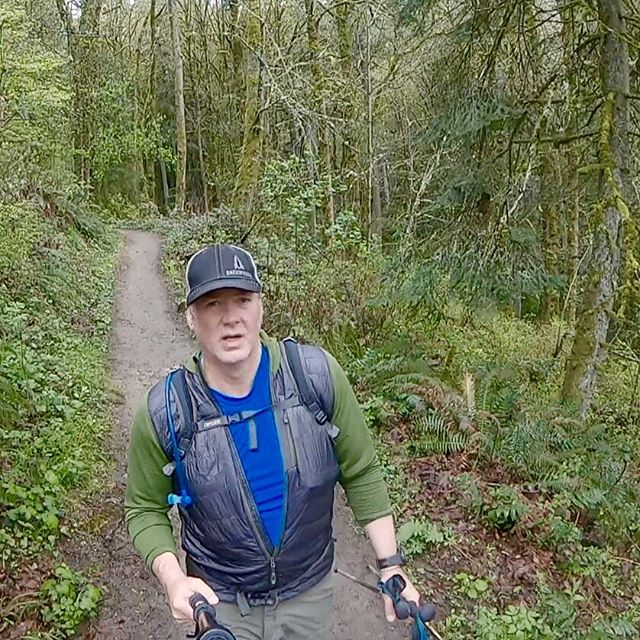 Saturday myself and a crew of intrepid adventurers tackled the full 30 mile length of the Wildwood trail in one go. We are lucky to have Forest Park which is one of largest urban forest reserves in the US and the fact that the Wildwood Trail links it end to end inside our urban boundary is an amazing resource. We cruised through mud and rain and a sea of gorgeous green forest to complete it. This is what hiking 30 miles in Forest park looks like, you walk, all day, nearly 11 hours. Thats it.  Some Data: Total Distance: 30.88 Miles Total Time: 10:42:50 Elevation Gain: 3,245 ft. Elevation Loss: 3,130 ft. Average Speed (counts breaks): 2.9 mph Average Moving Speed: 3.1 mph #oregon #forestparkpdx #wildwoodtrail #30miles