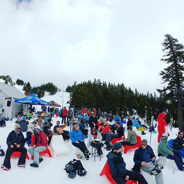 Mazot-Fest. #mthoodmeadows #springskiing #mountainlife #mthood #oregon
