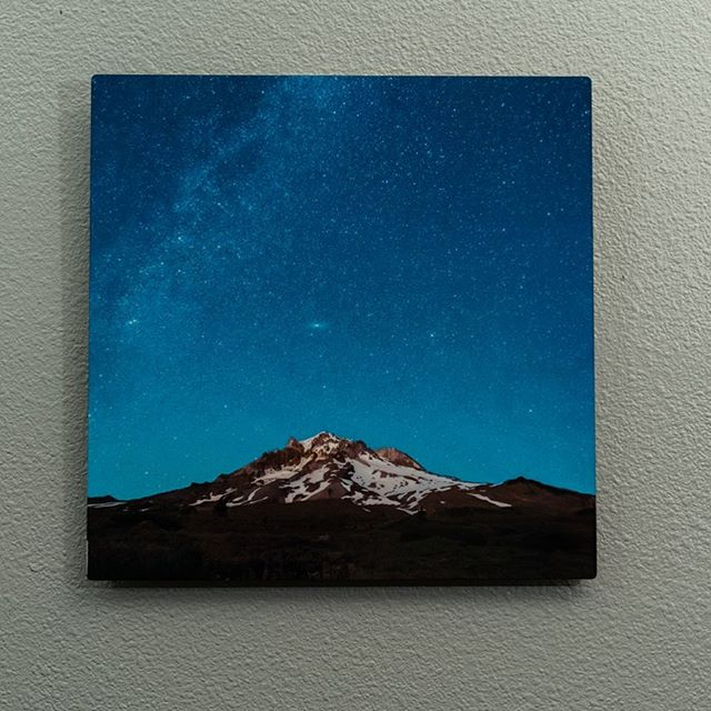 Did you know I have prints available on my Etsy shop (chrisrobisonphoto) and you can buy this 12x12 metal print that is one of my favorites with the coupon code INSTAPRINT for 10% off through Sunday 6/2.  I like to backpack to this spot on Mt. Hood and enjoy the peace of this alpine campsite. After watching the sunset you get to really experience the dark night sky and really see the stars above The mountain.  This photo is special to me because it takes me there, to that spot, every time I look at it. Make it yours.