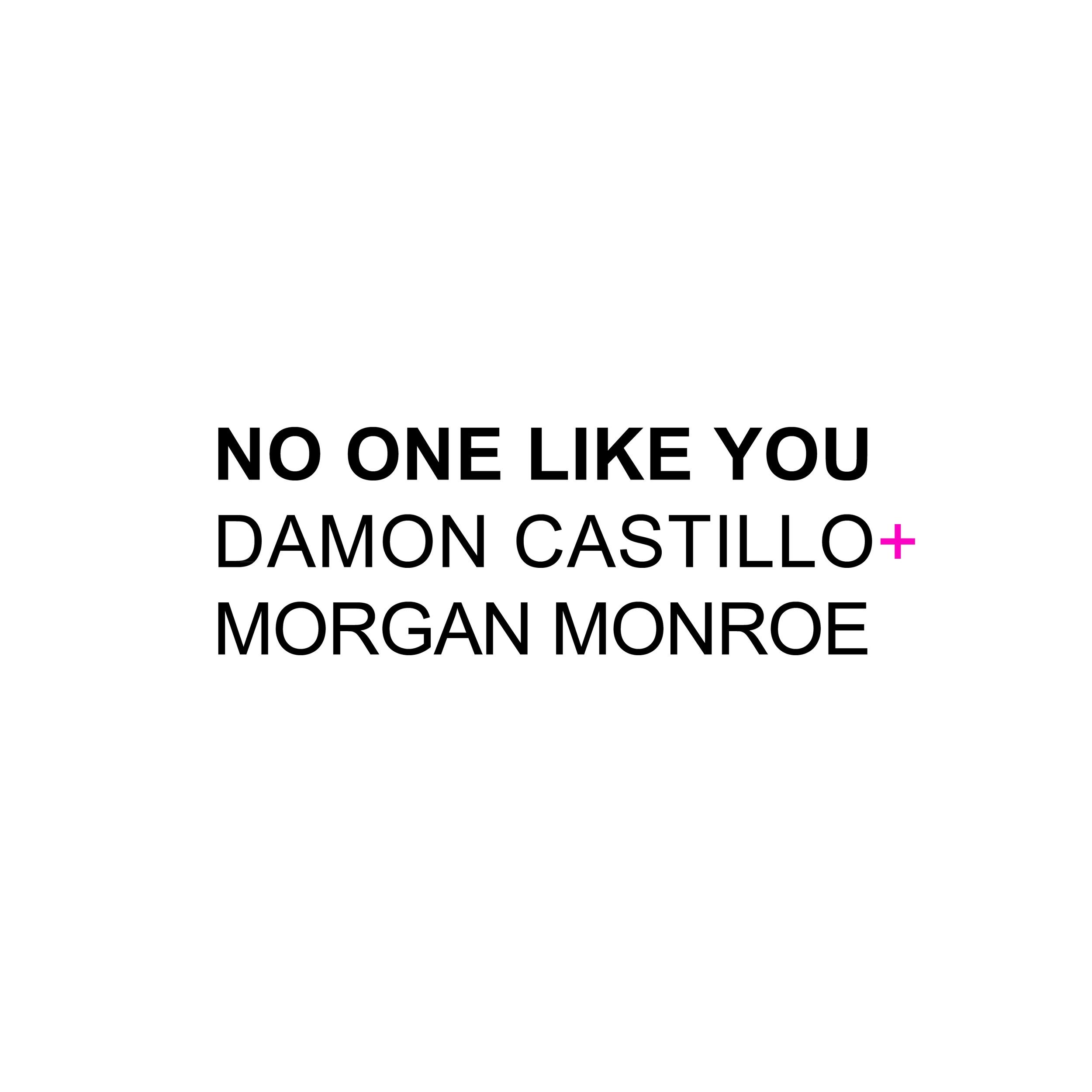 "New Single ""No One Like You"" feat. Morgan Monroe"
