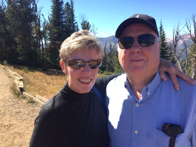 Janet Nagele - and her husband, Chuck, enjoy traveling on occasion. Destinations of choice are often to natural wonders. Chuck is always looking for geological sites and rocks for his collection, while Janet looks for flowers, birds and butterflies to photograph. This particular photo was taken on top of Mt. Howard overlooking Wallowa Lake, and accessed via the gondola.