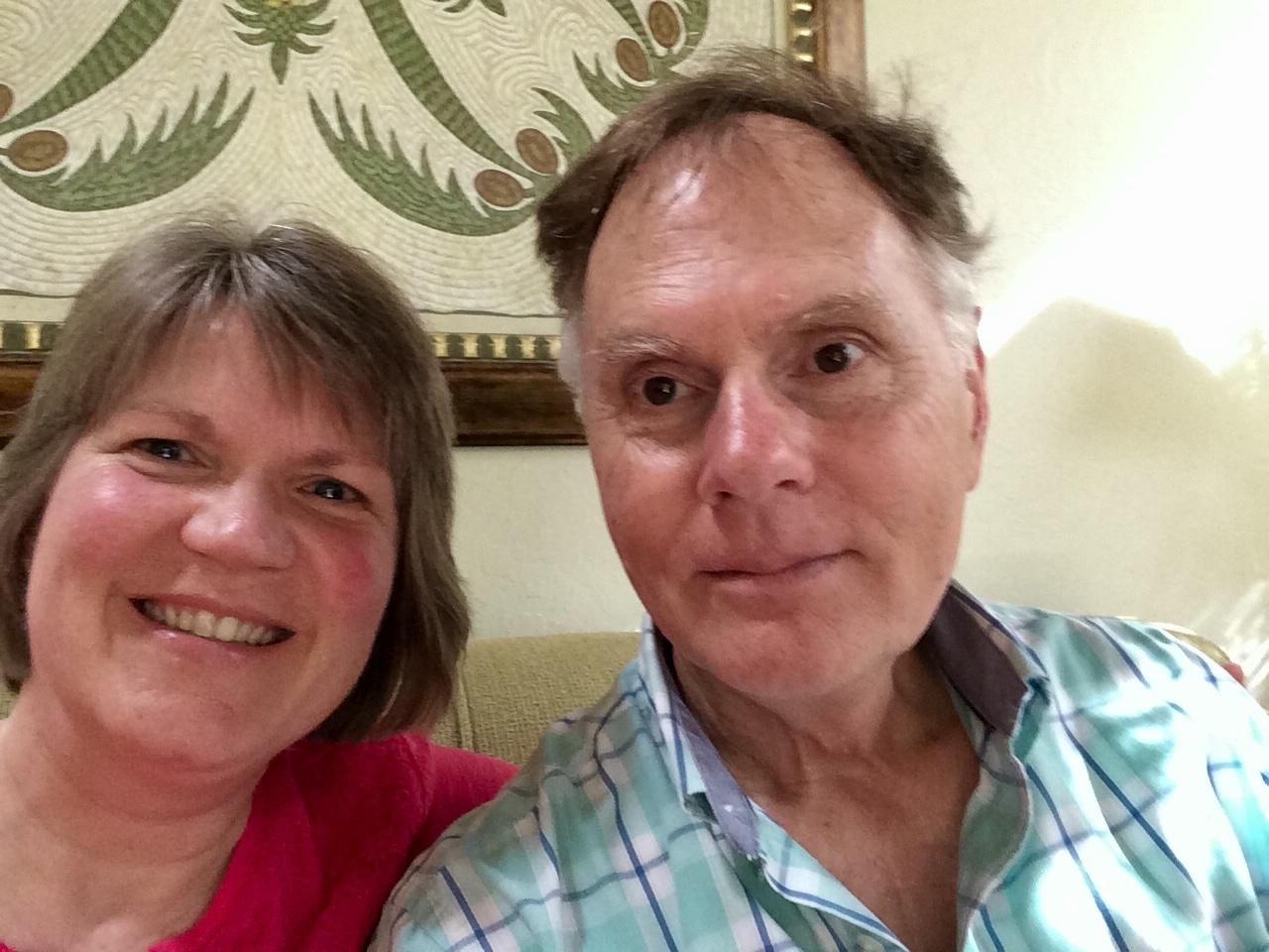 Laurie Berning - and husband, Tom, pray and hope that their extended family's circle will be unbroken at the heavenly reunion.