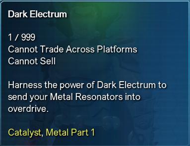 Dark Electrum Info