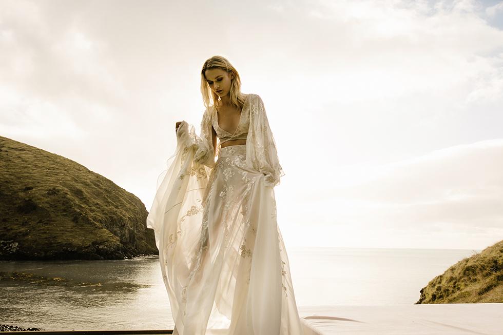 edgy bridal wear for a trendy bride by australian wedding brand L'eto Bridal