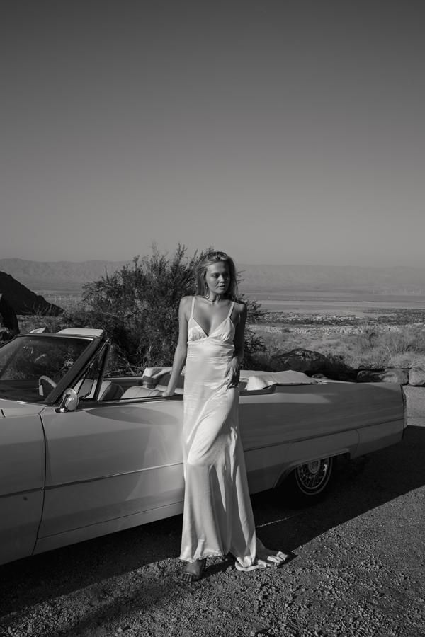 Piece 17 | Open back wedding dress with train by L'eto Bridal