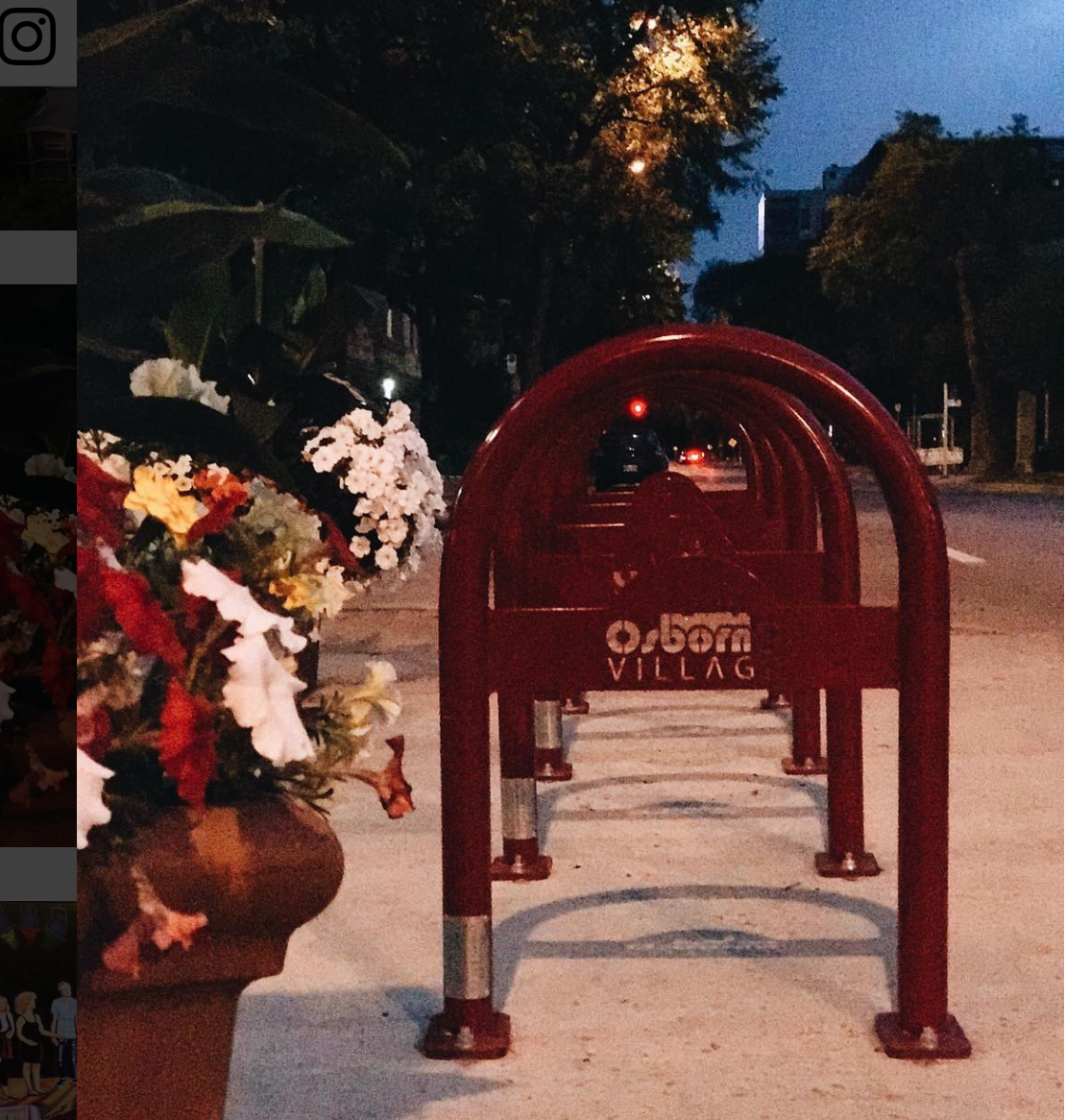 Bike Racks - Encouraging healthy lifestyles, facilitating business access and easy on the eyes.