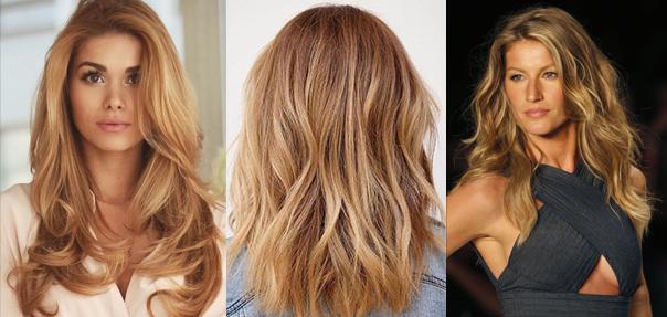 hair colour fashion - warm blondes