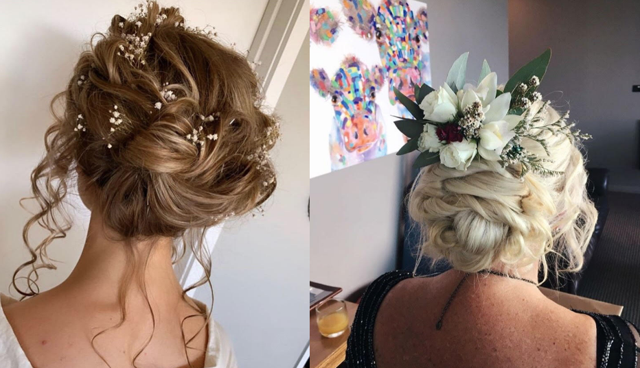 Accessories in wedding hair inspo New Zealand