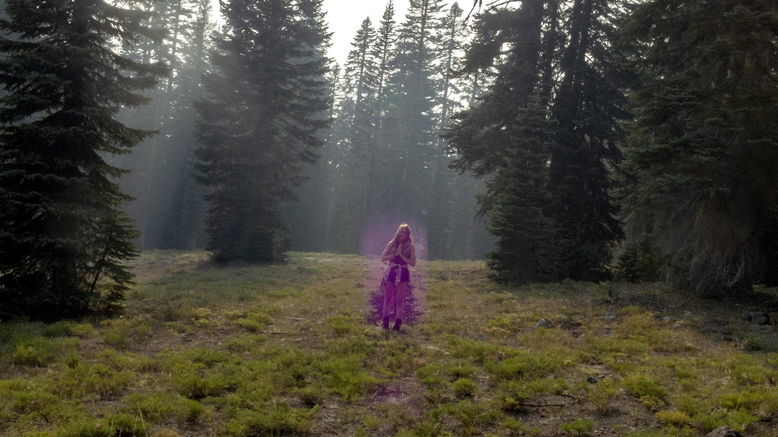 The Violet Flame on Mount Shasta