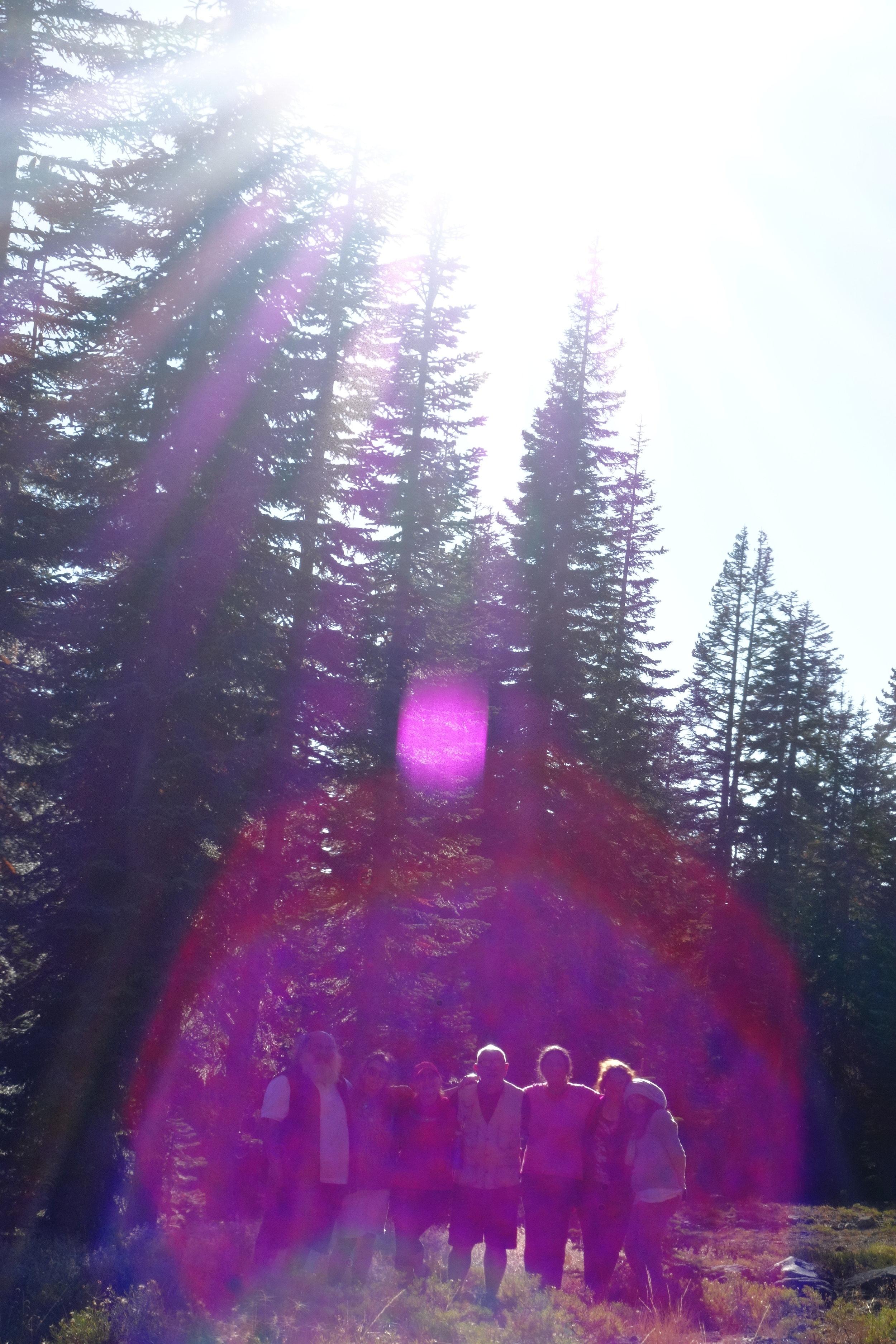 THE VIOLET FLAME / MT. SHASTA SPIRITUAL TOURS
