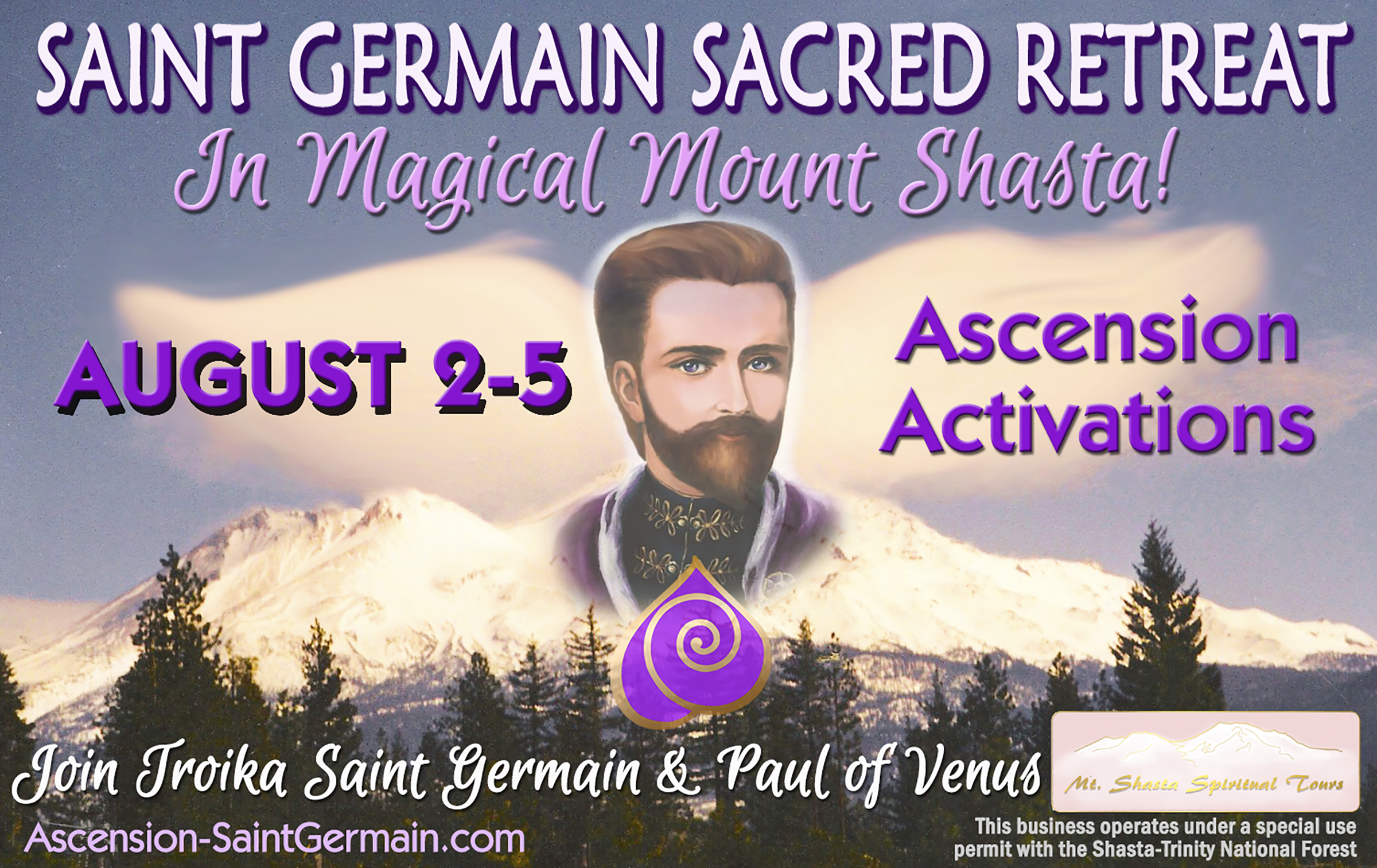 Saint Germain Sacred Retreat