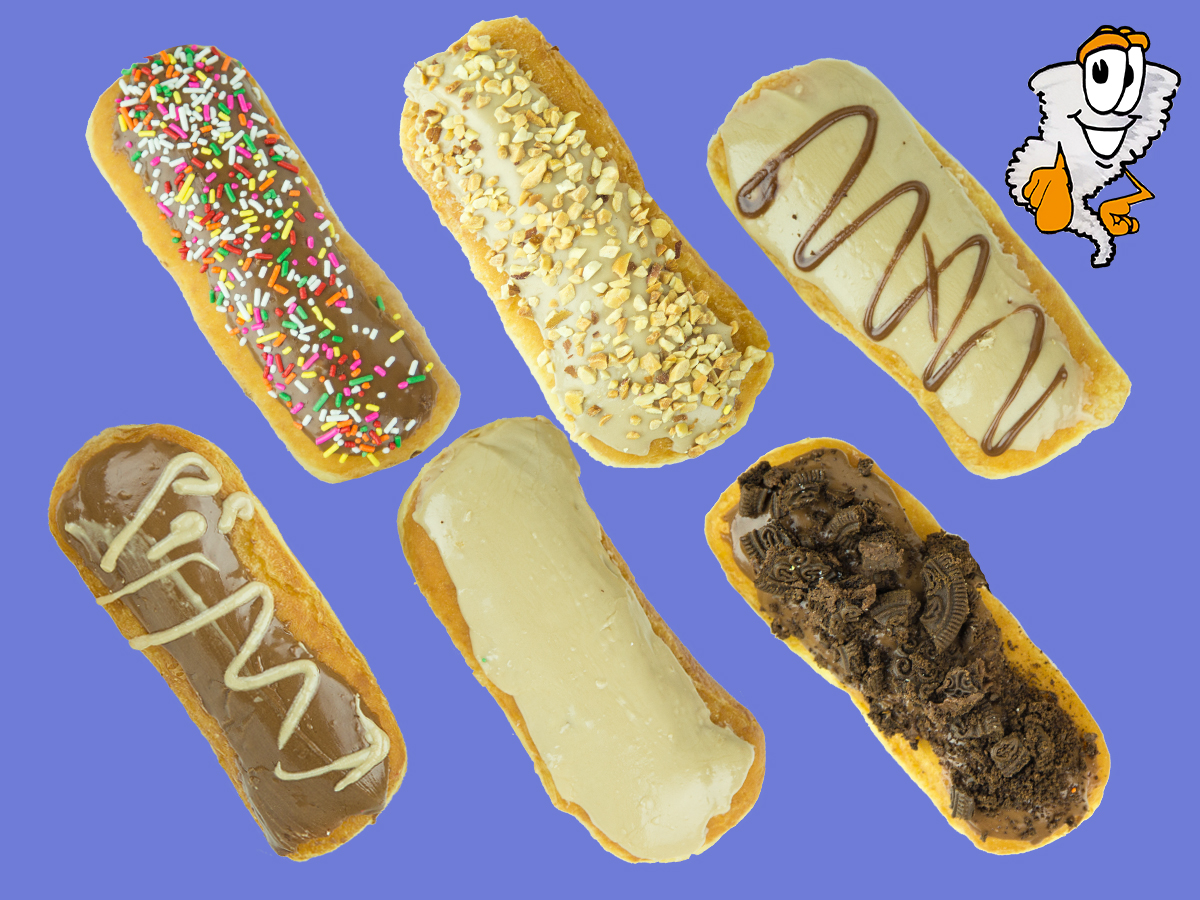Donut Bars - Flavours: peanut butter nut, peanut bar sprinkles, Oreo Chocolate(Special), Oreo Maple(Special),$1.50 each - $ 17.99 dozen