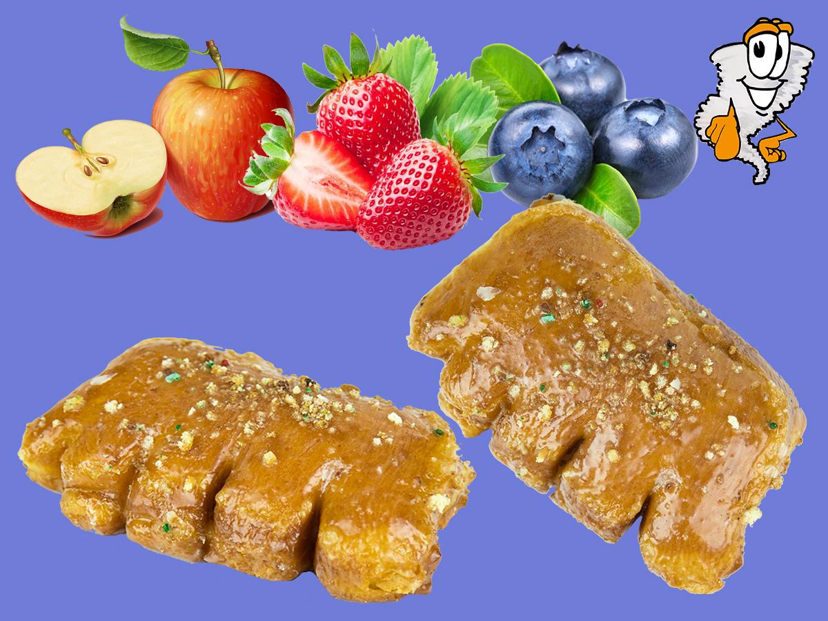 Bear Claw - Flavors: apple, blueberry, strawberry$1.75 each