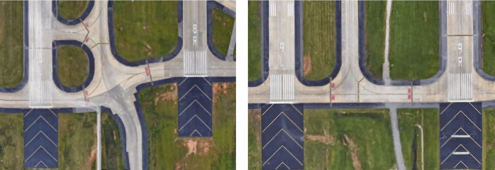 Figure 5 : Four Parallel Runways at Hartsfield-Jackson, ATL