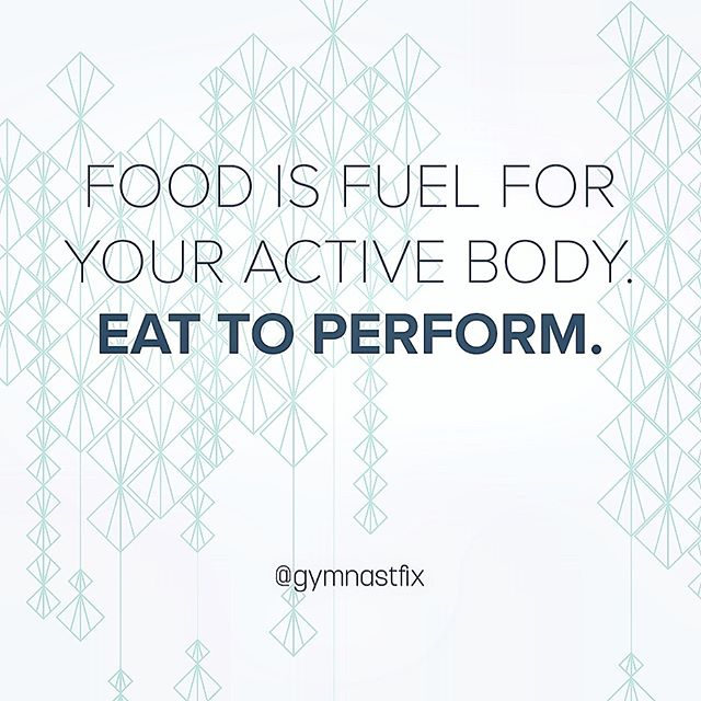 What kind of foods are you eating to make sure you are as well prepared for practice & competition?! My favorite answers? REAL FOOD! 🍎🍌🥑🥦🍓🥥🥚🥩🍍🍉 #EatToPerform #LimitVariables #GetYoFix 👊🏽