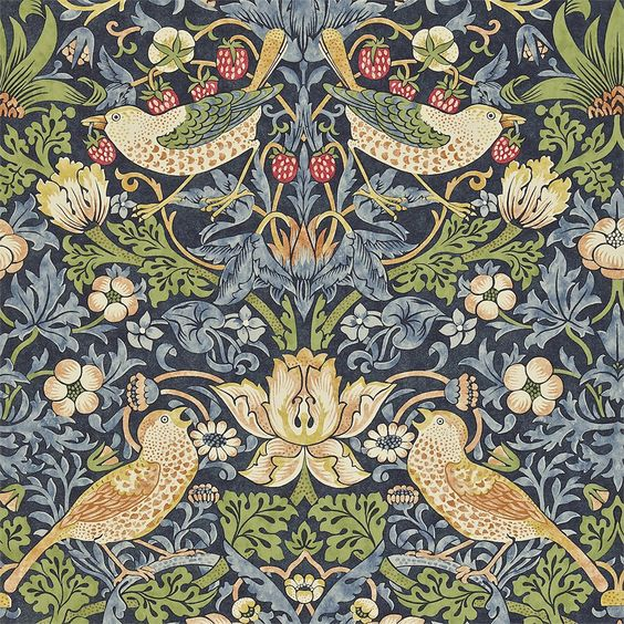 William Morris, The Strawberry Thief