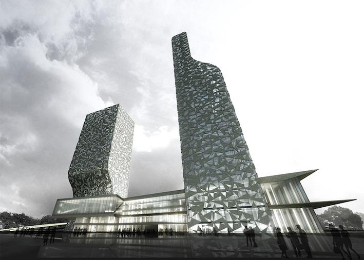 碧云90五星级酒店及甲级办公楼项目  中国上海